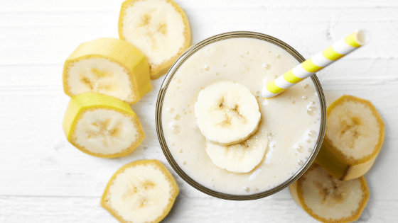 Smoothie anti-grignotage aux bananes